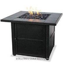 Uniflame lp Fire Pit Dark Slate Outdoor 30,000 btu Propane Patio Deck Fi... - $389.00