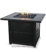 Uniflame lp Fire Pit Dark Slate Outdoor 30,000 btu Propane Patio Deck Fi... - $389.00