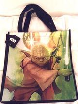 "STAR WARS Retro YODA (#2)   Reusable Shopper Tote Bag—Size: 13"" x 11"" NEW! - $6.25"