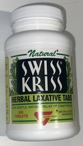 Swiss Kriss Herbal Laxative Gentle, Natural Relief of Constipation - 250 Tablets - $22.99