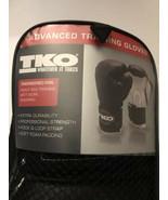 TKO w/ Bag 12 OZ Boxing Gloves - Black and White - Advanced Training Gloves - $9.89