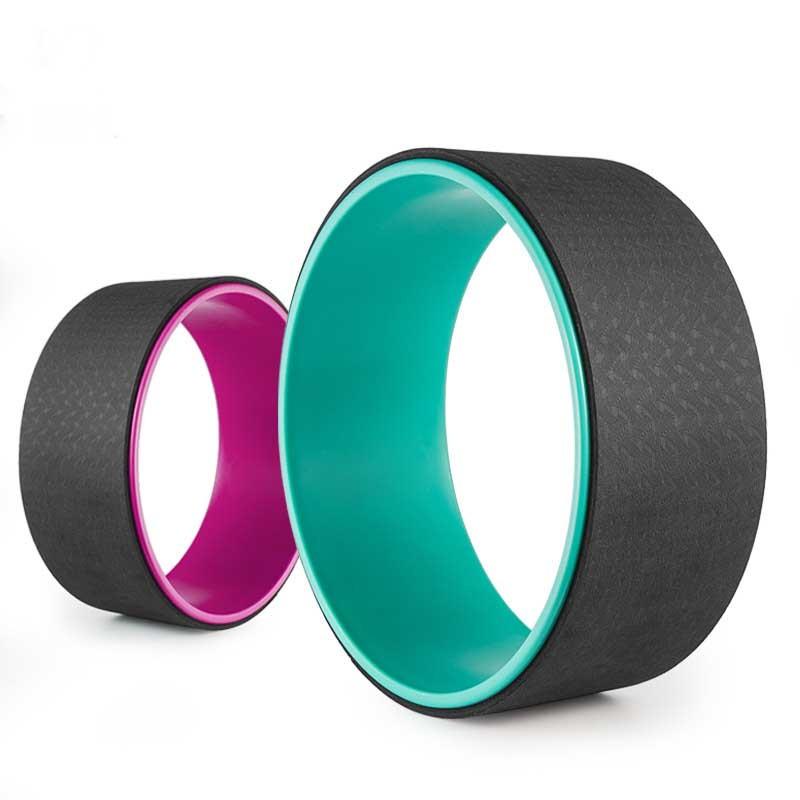 Yoga pilates circle tpe slimming fitness waist shape bodybuilding yoga wheel ring