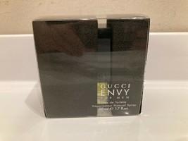 RARE VINTAGE GUCCI ENVY FOR MEN EDT 1.7oz/ 50ml spray - $296.01