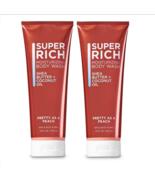 2 Bath & Body Works PRETTY AS PEACH Super Rich Moisturizing Body Wash 10... - $19.75