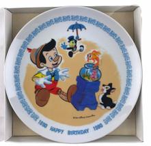 "Schmid Walt Disney Characters Happy Birthday Pinocchio 7"" Collector Plat... - $13.96"