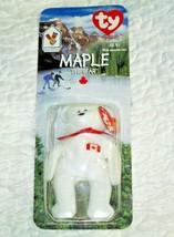 TY Maple The Bear McDonalds Plush Beanie Baby Bear DATE ERROR  - $3.95