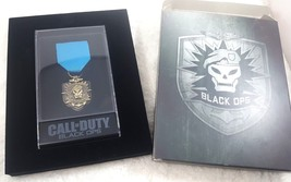 Call of Duty Black Ops Video Game Limited Edition Medal COD Pin Skull  - $12.86