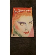 MADONNA INTERVIEW MAGAZINE DECEMBER 1985 - $70.00