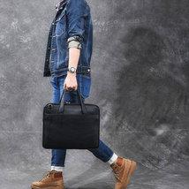 Sale, Full Grain Leather Men Briefcase, Tote, Messenger Bag, Laptop Bag, Shoulde image 3