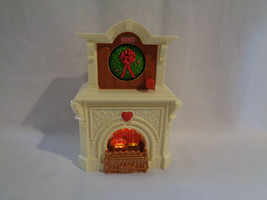 2010 Fisher Price Loving Family Dollhouse Replacement Lightup Musical Fireplace - $9.16