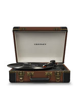 Crosley Executive Deluxe Portable USB Turntable - Brown CR6019D-BR - £89.88 GBP