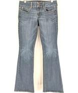 American Eagle Artist Jeans Women's Sz 6 Stretch Medium Wash (g2)   - $21.99