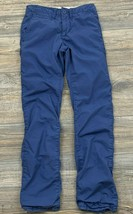 Gap Pants Youth Boy's 14 Slim Chino Warm Lined Winter Cotton Adjustable Waist - $16.82