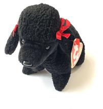 Ty Beanie Baby GiGi 1997 Poodle Dog Tag Errors Plush Toy Rare PE Vtg New - $14.84