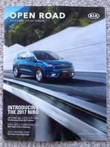 Kia Open Road Magazine 2016 self driving cars, 2017 Cadenza, Rafael Nadal - $4.99