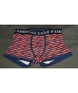 NEW AE Men's Low Rise Cotton Stretch Boxer Trunk Striped American Eagle ... - $7.94