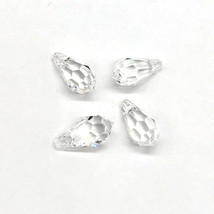 144 clear CRYSTAL (001) Swarovski 6000 Classic Drop 11 x 5.5mm Pendant necklace image 2