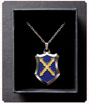 Fate/Grand Order Apocrypha Saber Mordred Cosplay Knight Cross Necklace P... - $10.93
