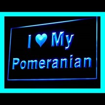 210118B I Love My Pomeranian Statement Alternative Best Awareness LED Li... - $18.00