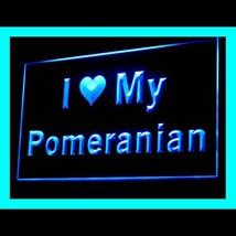 210118B I Love My Pomeranian Statement Alternative Best Awareness LED Li... - $18.00