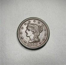 1853/3 RPD Large Cent Coin AI095 - $72.50