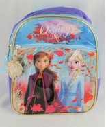Disney Frozen Autumn Destiny Mini Backpack Purple - $7.99