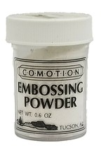 Comotion Embossing Powder, White