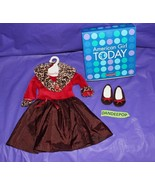 American Girl Doll Chocolate Cherry Outfit With Original Box - $25.73