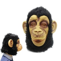 1 Pc Halloween Orangutan Mask Halloween Head Cover for Women Decoration Men Gift - $22.99