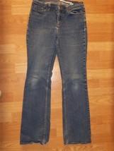 Womens 6R DKNY JEANS Blue Denim Stretch Boot Cut JEANS WX3655 - $14.50