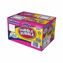 5400 Dubble Bubble Tab Chewing Gum 6 Flavors 6 Colors Free Shipping Bulk... - $42.99