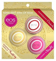 eos Evolution of Smooth Box Set Super Soft Shea Lip Balm 3-Piece - $14.11
