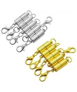 10 PCS Magnetic Jewelry Clasps ?YSLF 5 PCS Silver-plated And 5 PCS Magn... - $21.47