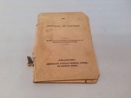 Rare Antique Cottage of Content and The Vine Philadelphia Sunday School ... - $990.00