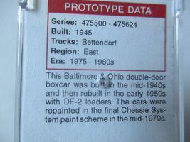 Micro-Trains #18200070 Baltimore & Ohio 50' Standard Boxcar N-Scale image 3