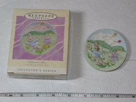 HALLMARK Keepsake Ornament 1995 Easter Collection Collectors Catching th... - $13.36