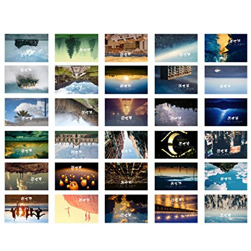 Primary image for 30 PCS Originality Postcard Hand Painted Postcards Beautiful Souvenir Card F