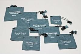Diamond Grind Grinder Kitchen Accessory Storage Bag Light Blue lot of 8 ... - $14.86