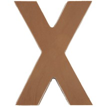 Philadelphia Candies Solid Milk Chocolate Alphabet Letter X, 1.75 Ounce Gift - $9.85