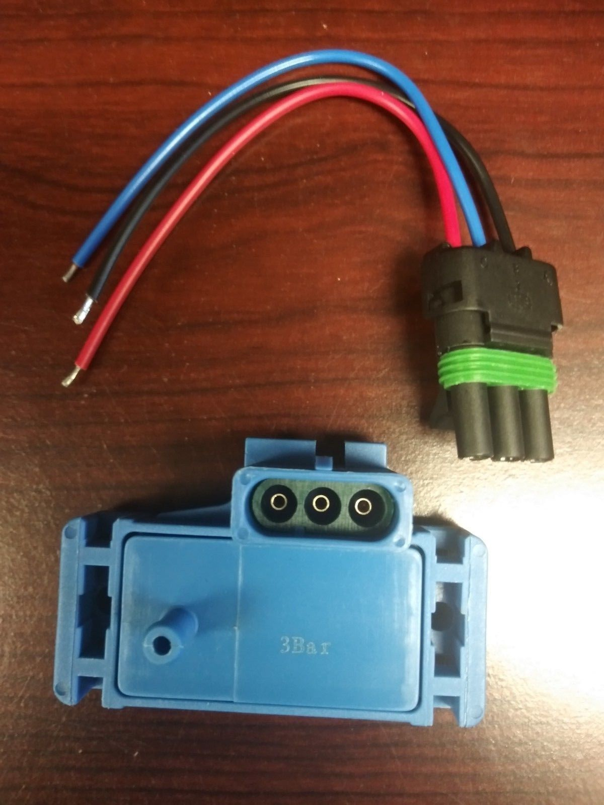 New Gm 4 Bar Map Manifold Pressure Sensor Turbo Boost With Wire Plug Wiring Pigtail Aftermarket