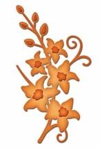"""Spellbinders Shapeabilities Die D-Lites """"Tiger Lilies"""" #S2-042"""