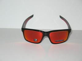 OAKLEY MAINLINK Polished Black Frame / Prizm Ruby Polarized Lenses  Sung... - $129.00