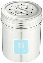 Endoshoji commercial TKG seasoning cans large S (salt) 18-8 stainless BT... - £11.16 GBP