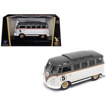 1962 Volkswagen Microbus #5 Van Bus White 1/43 Diecast Model by Road Sig... - $23.80