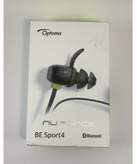 Optoma NuForce BE Sport4 Premium Wireless Sport Earphones With Mic - Black - $39.06