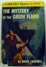 Ken Holt KH10 Mystery of the Green Flame Great Britain UK Edition hcdj C... - $28.00