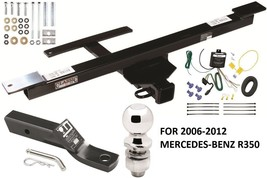 2006-2012 MERCEDES-BENZ R350 COMPLETE TRAILER HITCH PACKAGE W/ WIRING KI... - $290.52