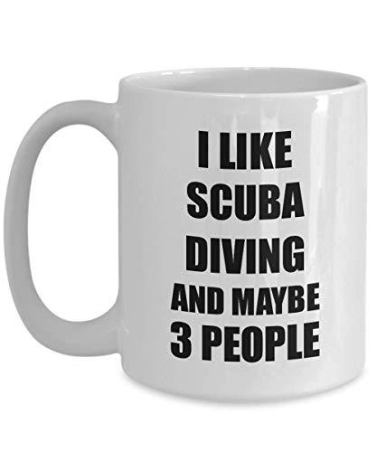Primary image for Scuba Diving Mug Lover I Like Funny Gift Idea for Hobby Addict Novelty Pun Coffe