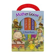 Mother Goose Deluxe My First Library 12 Board Book Block - PI Kids [Boar... - $11.73
