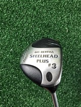 Callaway Big Bertha Steelhead Plus 3 Wood Regular w/Cover - $19.99